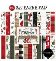 Carta Bella - Farmhouse Christmas, Double-Sided Paper Pad 6