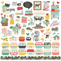 Simple Stories - Apron Strings Cardstock Stickers 12