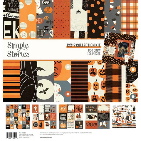 Simple Stories - Boo Crew, Collection Kit 12