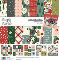Simple Stories - Winter Cottage, Collection Kit 12