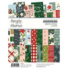 Simple Stories - Winter Cottage, Paperikko 6''x8'', 24sivua