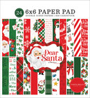 Carta Bella - Dear Santa, Double-Sided Paper Pad 6