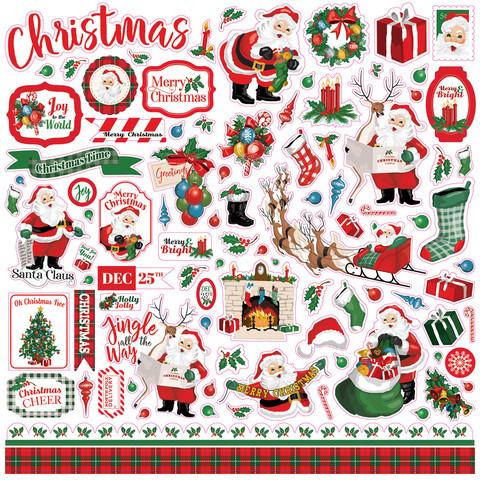 Carta Bella - Dear Santa, Element Sticker 12