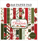 Carta Bella - Hello Christmas, Double-Sided Paper Pad 6