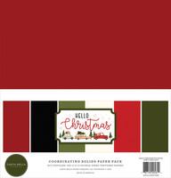 Carta Bella - Hello Christmas, Solids Kit 12