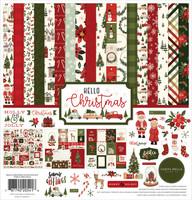 Carta Bella - Hello Christmas, Collection Kit 12