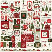 Carta Bella - Hello Christmas, Element Sticker 12