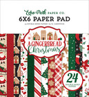 Echo Park - A Gingerbread Christmas Double-Sided Paper Pad 6