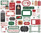 Echo Park - A Gingerbread Christmas Frames & Tags, Leikekuvia, 33 kpl