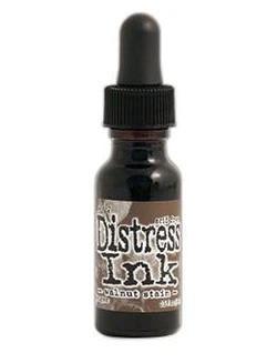 Tim Holtz - Distress Ink, Täyttöpullo, Walnut Stain