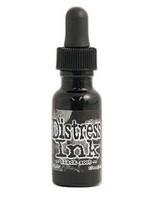 Tim Holtz - Distress Ink, Täyttöpullo, Black Soot