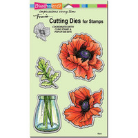 Stampendous - Pretty Poppies, Stanssisetti