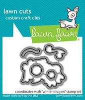 Lawn Fawn - Winter Dragon, Stanssisetti