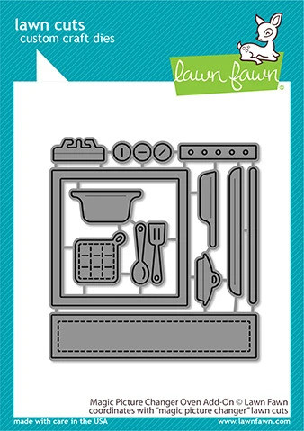 Lawn Fawn - Magic Picture Changer Oven Add-on, Stanssisetti
