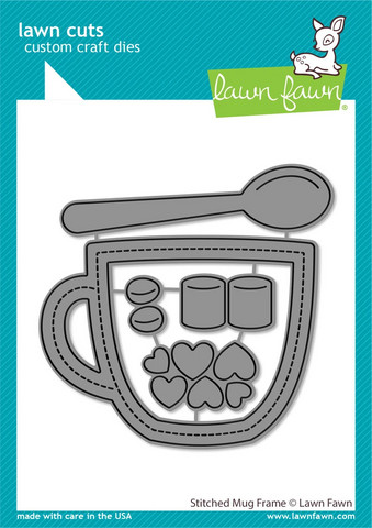 Lawn Fawn - Stitched Mug Frame, Stanssisetti