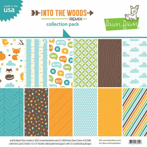 Lawn Fawn - Into the Woods Remix Collection 12
