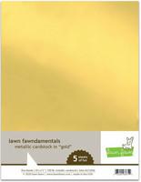 Lawn Fawn - Metallic Cardstock Gold 8,5