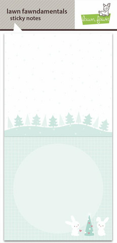 Lawn Fawn - Let It Snow Sticky Notes