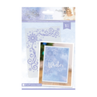 Crafter`s Companion - Sara Signature Collection Glittering Snowflakes, Kohokuviointitasku, Touch of Winter