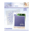 Crafter`s Companion - Sara Signature Collection Glittering Snowflakes, Kohokuviointitasku, Frosted Elegance