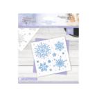 Crafter's Companion - Sara Signature Collection Glittering Snowflakes Sapluuna 6