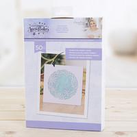 Crafter's Companion - Sara Signature Collection, Tekolumi, Glittering Snowflakes