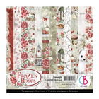 Ciao Bella - Frozen Roses Double-Sided Paper Pad 6