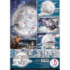 Ciao Bella - Moon & Me, Korttikuva-arkit, 9 arkkia