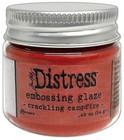 Tim Holtz - Distress Embossing Glaze, Crackling Campfire (T), 14g