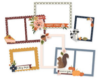 Simple Stories - Cozy Days, Chipboard Frames