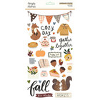 Simple Stories - Cozy Days Chipboard Stickers 6
