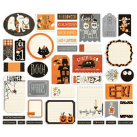 Simple Stories - Boo Crew Journal Bits & Pieces, 39 osaa