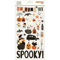 Simple Stories - Boo Crew Chipboard Stickers 6