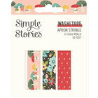 Simple Stories - Apron Strings, Washi Tape, 3 rullaa