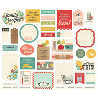 Simple Stories - Apron Strings Journal Bits & Pieces, 39 osaa