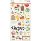 Simple Stories - Apron Strings Chipboard Stickers 6