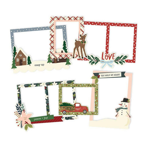 Simple Stories - Winter Cottage, Chipboard Frames