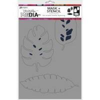 Dina Wakley Media - Tropical, Maski & Sapluuna 9