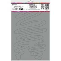 Dina Wakley Media - Meandering, Maski & Sapluuna 9