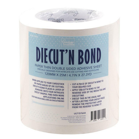 Couture Creation - Diecut'N Bond, 2-puol teippi, 120mm, 25metriä