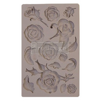 Prima Marketing - Re-Design Mould, Fragrant Roses, Silikonimuotti
