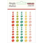 Simple Stories - Apron Strings Enamel Dots, 60 kpl