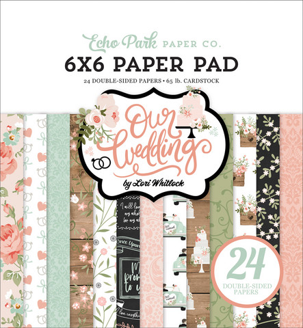 Echo Park - Our Wedding Double-Sided Paper Pad 6