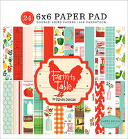 Carta Bella - Farm To Table Double-Sided Paper Pad 6