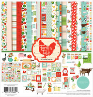 Carta Bella - Farm To Table, Collection Kit 12