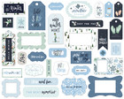 Carta Bella - Winter Market Frames & Tags, Leikekuvia, 33 kpl