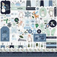 Carta Bella - Winter Market Element Sticker 12
