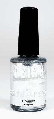 Aladine - Seth Apter IZINK Pigment Ink, Titanium, 11,5ml