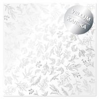 Fabrika Decoru - Silver Branches, Silver Foiled Vellum, 11,5