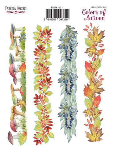 Fabrika Decoru -Tarra-arkki, Colors of Autumn 3